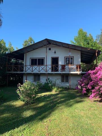 Casa en el Delta con mirador. Arroyo Caraguata.