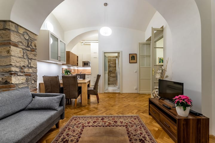 Beautiful city center Apartment on the riverbank