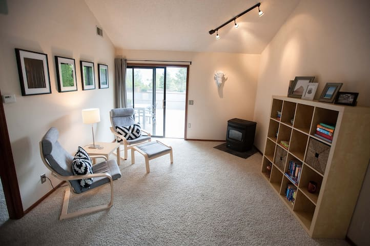 Bright and Sunny Boulder Townhouse Monthly Rental