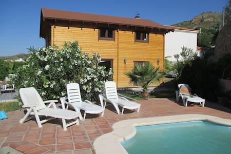 Bonita Casa de Madera/Lovely Wooden Chalet - Quéntar - Dům