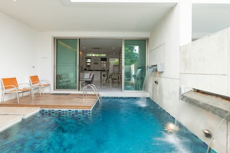 Phuket Beachfront house with pool