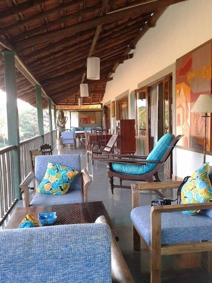 Artists House 3 BR Villa with Pool in Mandrem