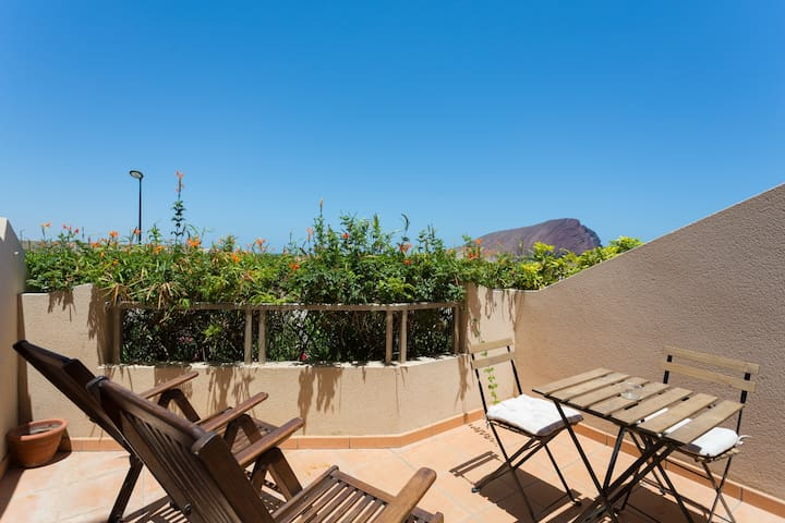 Apartament in front of th beach sea - Granadilla de Abona