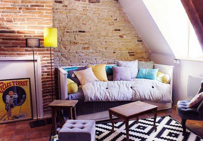 CHRISandCO's Apartment–center - Dijon - Apartment