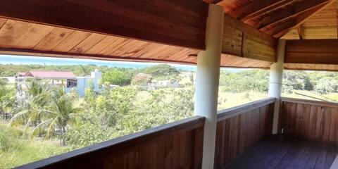 Cabaña con vista al mar. 3
