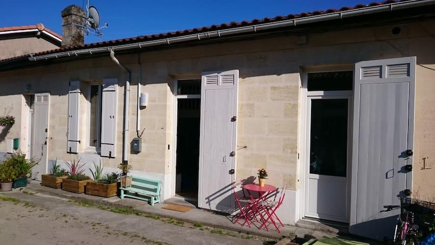 Maison calme 100m gare St Jean**** - Bordeaux - Talo