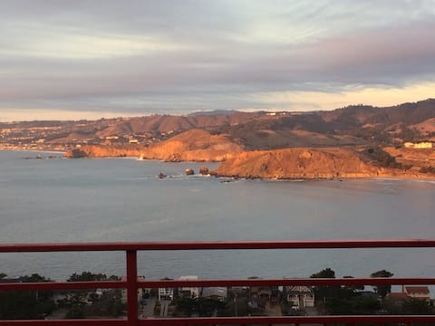SF Ocean Views-Pedro Pt.-Pacifica-1Bed Penthouse