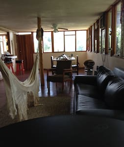 CABAÑA EN FINCA - Santiago de Puriscal - Blockhütte