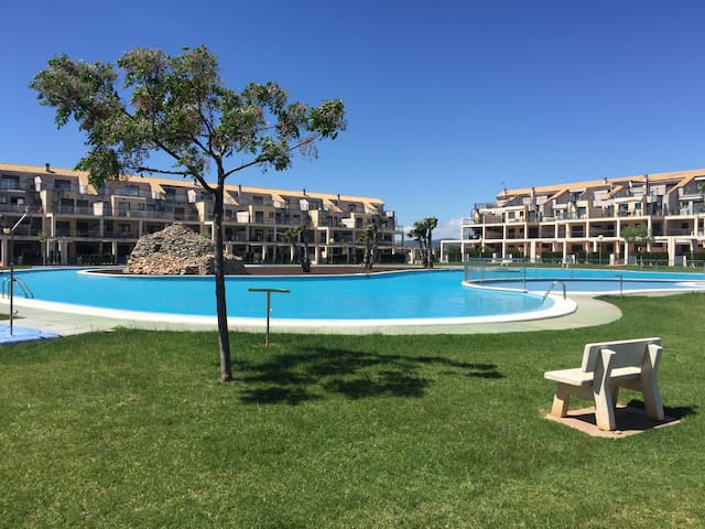 Apartamento club de golf 2 habitaciones - Sant Jordi - Apartment
