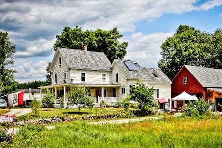 Farmhouse suite near Lake Sunapee - Bradford - Bed & Breakfast
