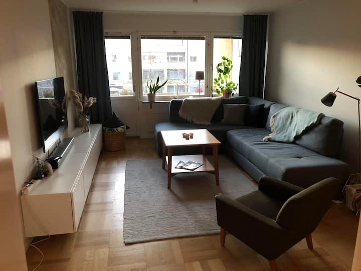 Renoverad lägenhet centralt i Visby