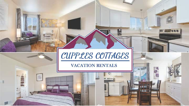 Cupples Cottage #1: Downtown! Close to JBER!