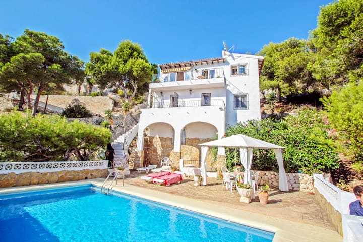 Fortuny-18 - comfortable holiday accommodation in Moraira