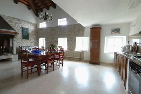 Wohnen im Rustico mit viel Platz - Lusiana - Apartment