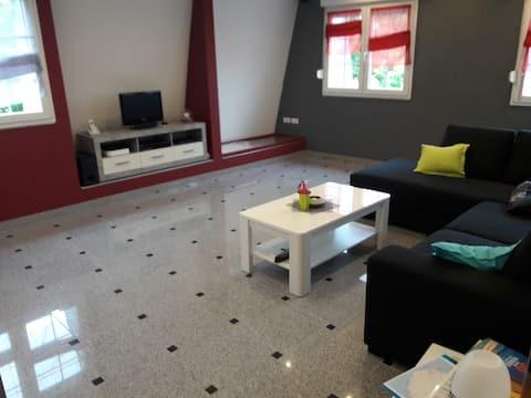 Appartement spacieux et lumineux à Bouzonville