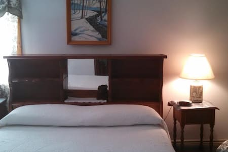 Copper Kettle B&B, Room 1 - free maple brittle - Putney - Oda + Kahvaltı