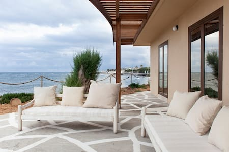 Villa Kouvohori 5bedrooms sea front - Hus