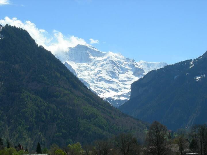 Great view in the quiet center of Interlaken