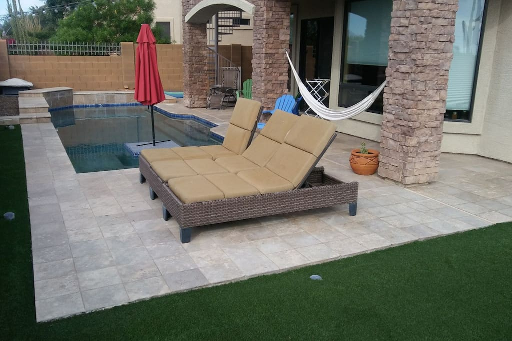 Enjoy all Arizona has to offer with our year round pool.