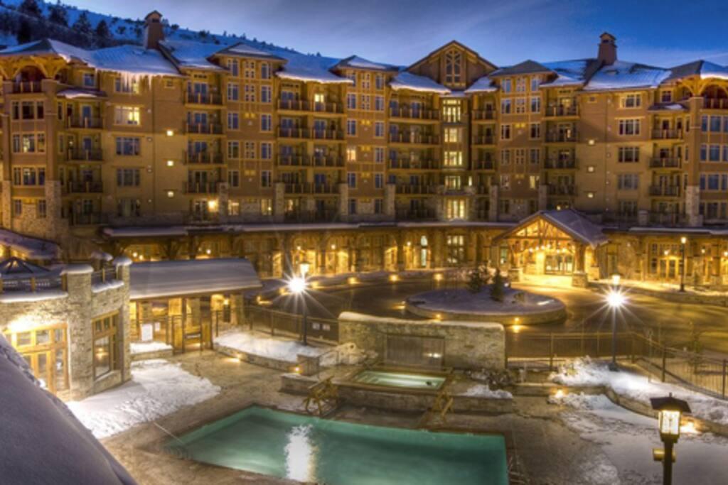 Luxurious Resort Setting