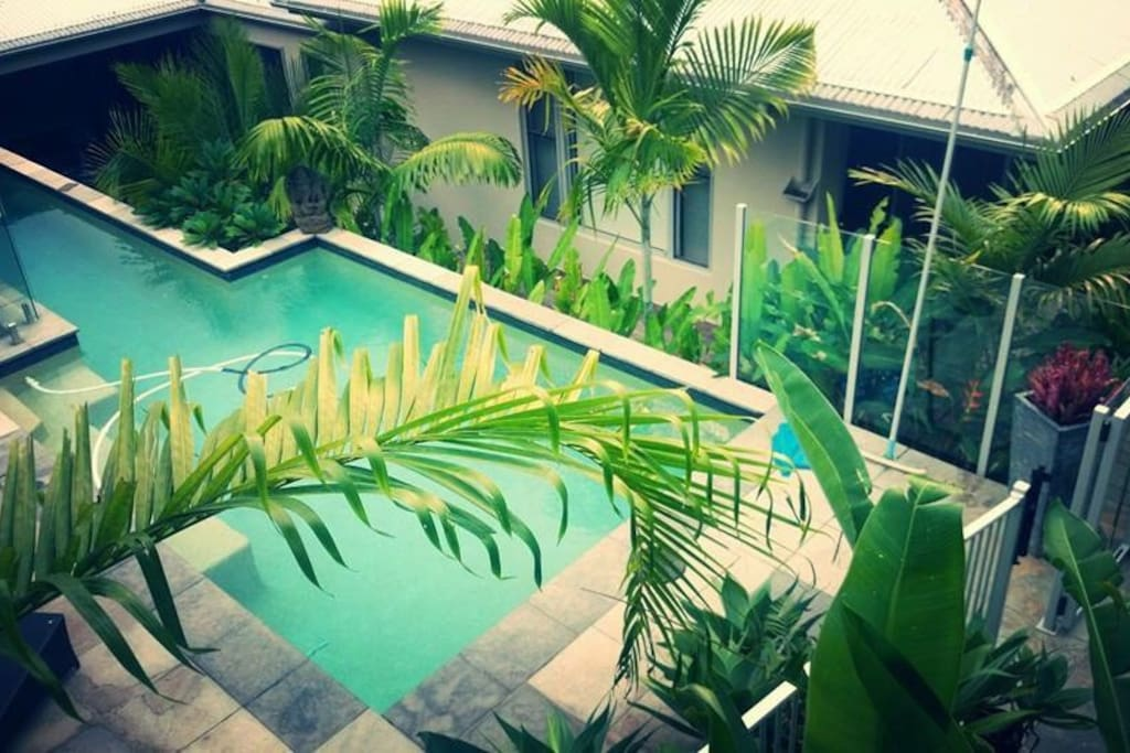 Pool from guest room