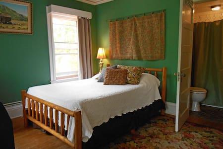 The Doctor's Inn - The Green Room