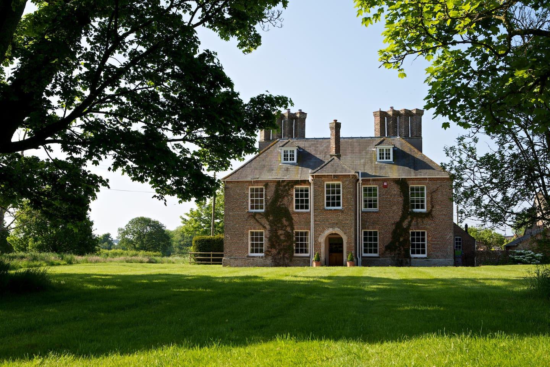 Ilsington Farm House Grade II listed, with 3-acre garden.