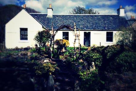 Isle of Ulva, small cottage.