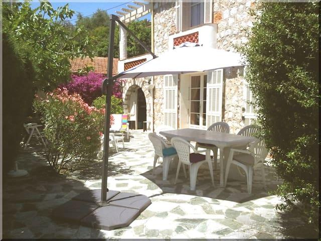Affordable Family home with garden - Villefranche-sur-Mer - Casa