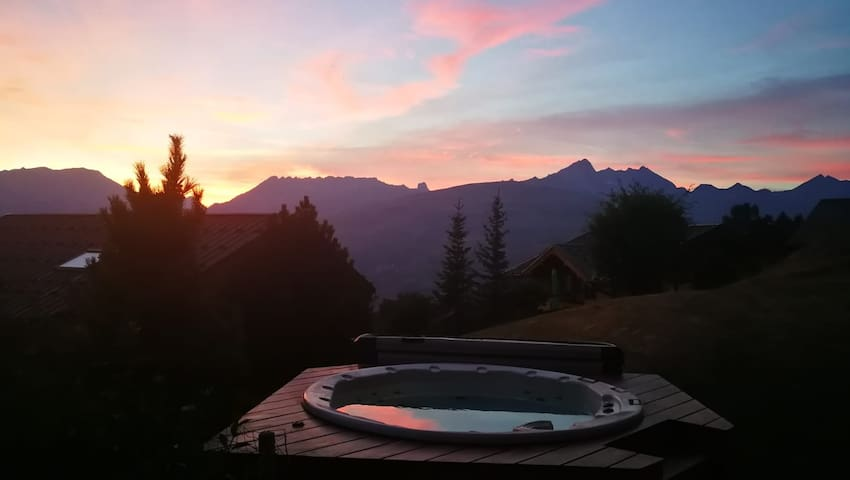 Charmant Chalet B&B jacuzzi chb double 2