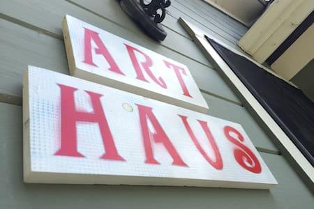 Art Haus: Art Studio + Tiny House