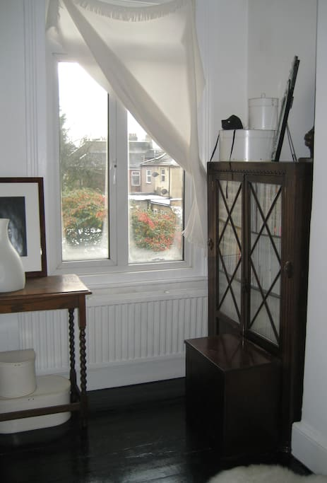 A quiet room at the rear of the property, with double-glazing, overlooking the garden.