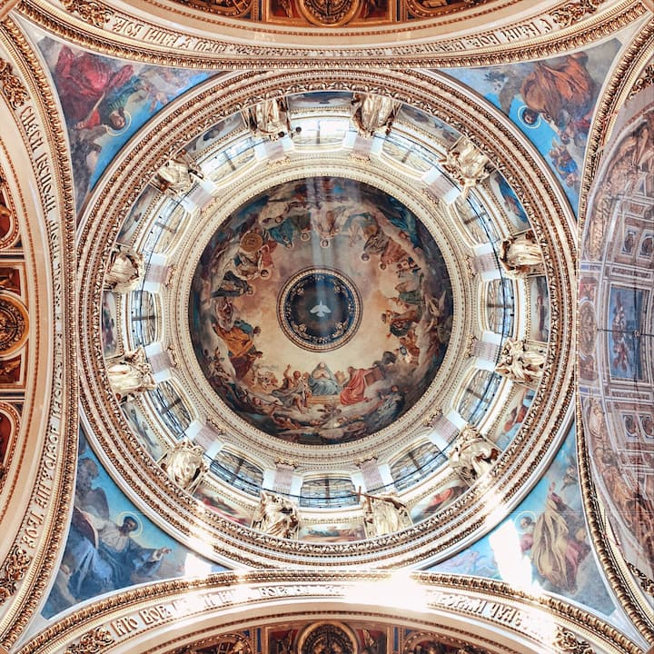St Isaac's Cathedral dome