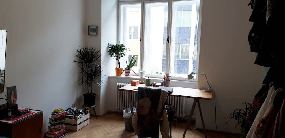 Central apartment with lots of space