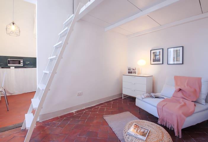 Cozy Alfani Studio near GALLERIA ACCADEMIA