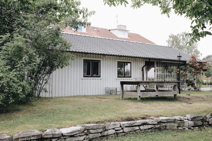 Familjevänligt gästhus mitt i Visby!