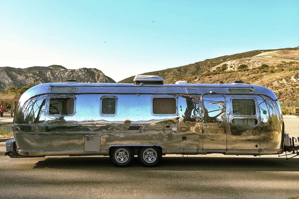 1974 airstream campers rvs for rent in los angeles for Motor homes los angeles