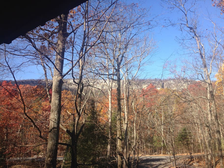 Perfect View of the Gunks (High Exposure) from the Front Deck