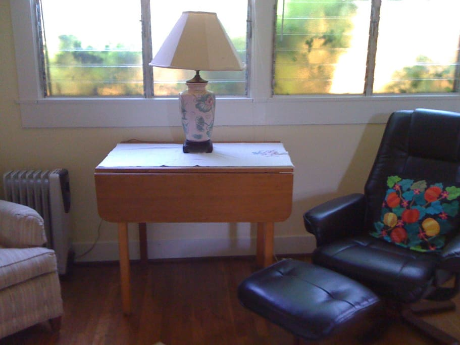 Lots of space in living room to relax! Wifi available.