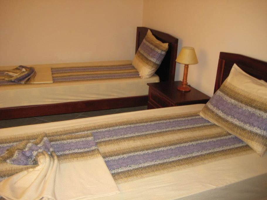 Rooms with double beds