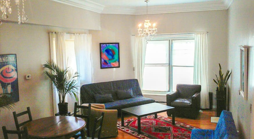 Light-filled 1BD Close to Downtown - Boston - Loft