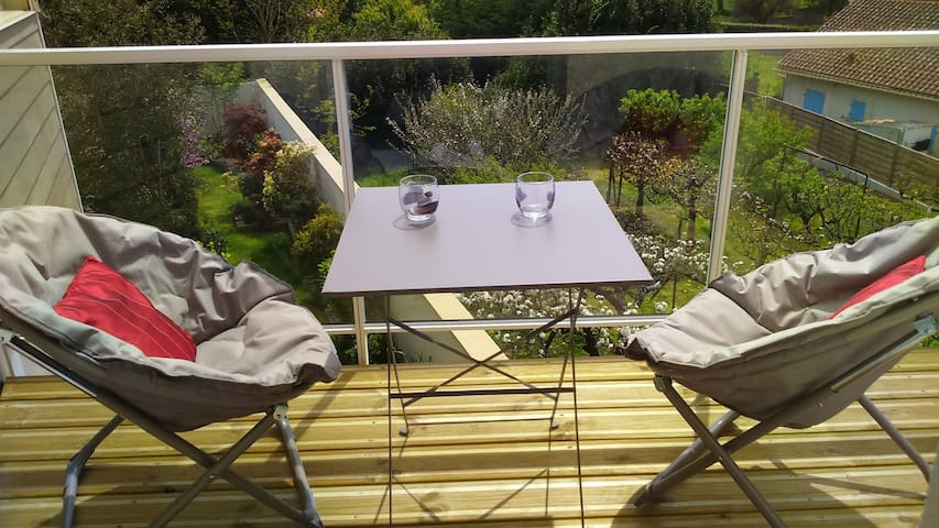 Proche mer, nature, 4*, balcon, WIFI, parking