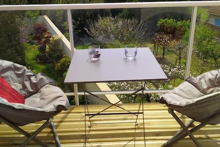 Proche mer, 4 étoiles, balcon,calme, WIFI, parking - Talmont-Saint-Hilaire - Wohnung