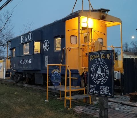 ROYAL BLUE CABOOSE at Annapolis Junction Md. 20724