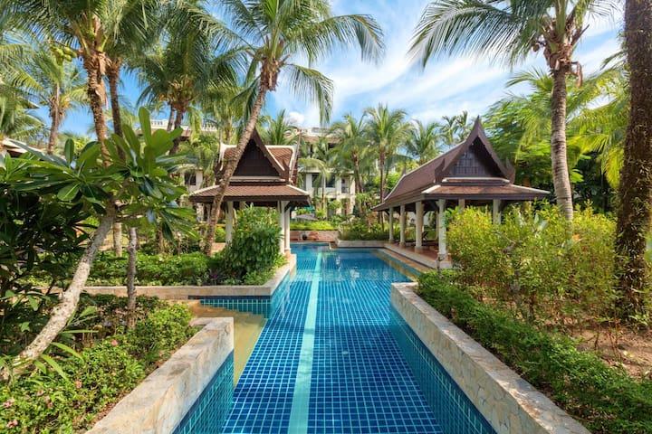 Kanika Residence - BangTao beachfront living, pools, gardens, BBQ.