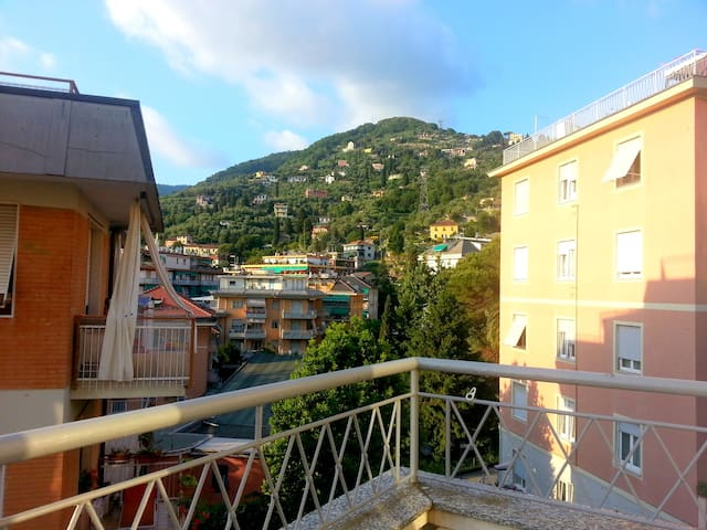Central and quite flat, just 5 minutes from sea. - Rapallo - Apartment