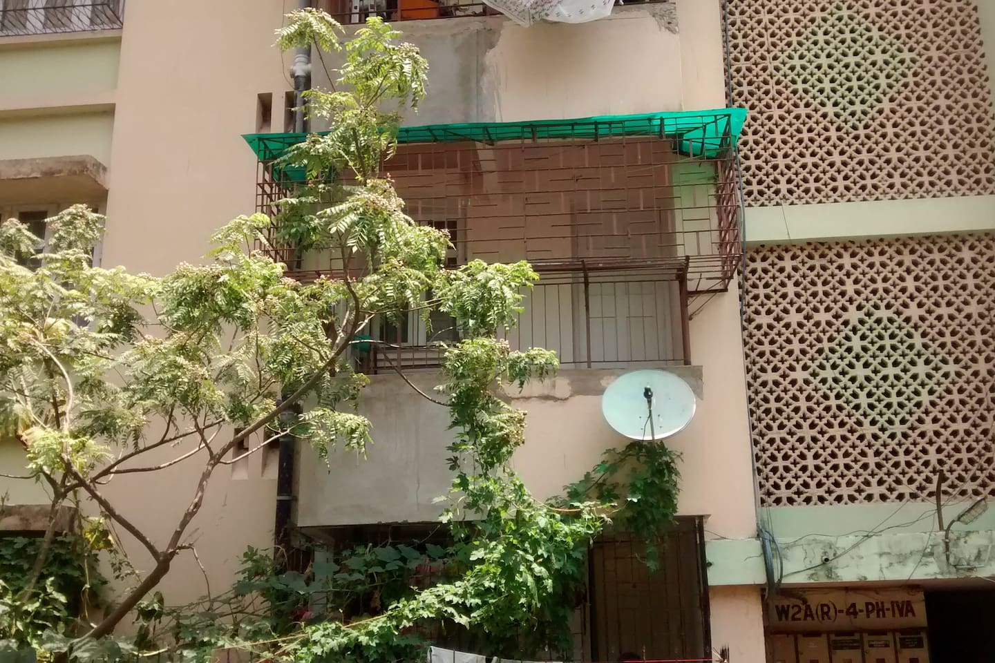 Apartment located on the 1st floor