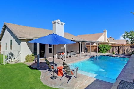 Pool Home Approx 3 miles to Festivals! - Indio - Maison