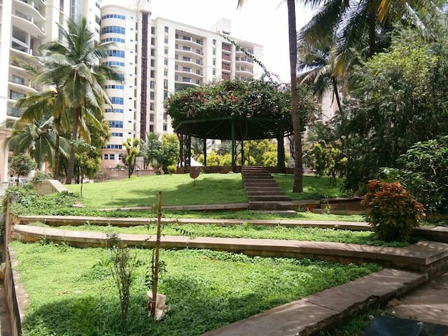 1 BHK BEAUTIFUL APARTMENT IN A LOVELY TOWNSHIP