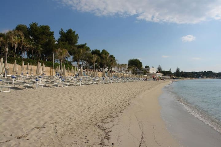 Sabbia bianca e mare cristallino